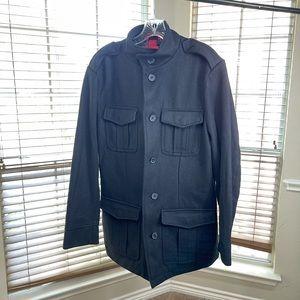 Alfani Fitted Black Men's Pea Coat